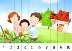 Children's illustration of Mother Day and Family Love - Wonderful Family illustration - Lovely Art illustration of Sweet Family 21 Art And Illustration, Korean Illustration, Cartoon Familie, Puzzles, Family Drawing, Free Cartoons, Happy Kids, Happy Family, Cartoon Kids