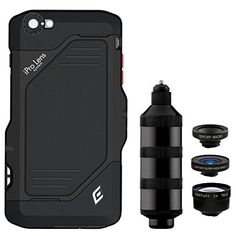 iPro Lens System Trio Kit for iPhone 6 Plus. Lose the camera bag! Photography Tools, Photography Accessories, Photo Accessories, Video Photography, Iphone 6, Lens, Ipad, Kit, Travel Stuff