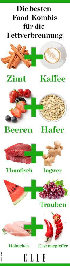 Food combinations that burn fat faster - Essen und trinken - Nutrition Diet And Nutrition, Food Combining, Fat Burning Drinks, Le Diner, Fat Loss Diet, Eat Smart, Calories, Fat Fast, Superfood