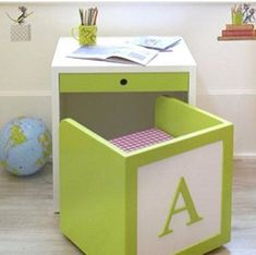 So totally love this for child's room... And of course it wouldn't be complete without their initial on it!