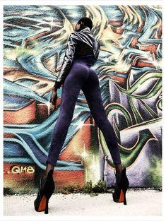 Futuristic Urban Fashion - The Editorial by Julia Noni for Obsession Magazine Stars #AjakDeng