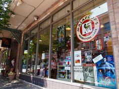 Malaprops - a great local favorite independent bookstore since 1982 ... located on Haywood St. in downtown Asheville, NC. .