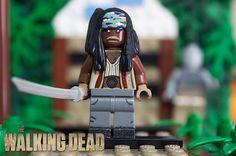 the walking dead lego   Lego The Walking Dead: Abraham Ford by schoolboy2224