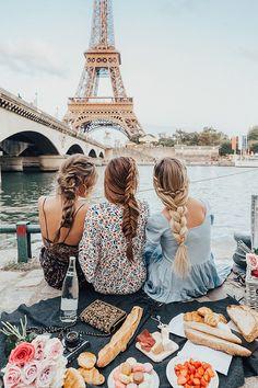 Barefoot Blonde Hair Everywhere in Paris.