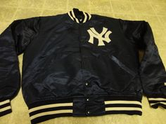 Vintage Starter Official MBL New York Yankees Jacket Great Cond not Much USD | eBay