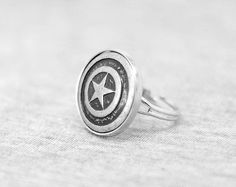 Captain America Ring by DuanJewelry
