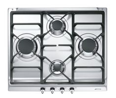 "SE60SGH3 Classic Aesthetic 60cm ""Classic"" gas hob, with Cast Iron Pan Stands"