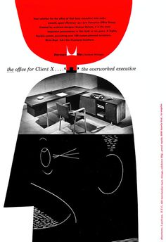 Herman Miller ad - George Nelson's 'Executive Office' collection