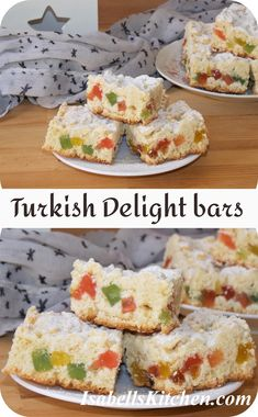 Turkish delight bars