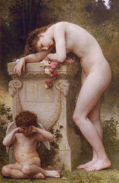 Elegy...Adolphe William Bouguereau