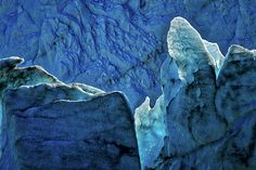 #Photograph by Stuart Litoff.  #Details of the #PeritoMoreno #Glacier in #LosGlaciares #NationalPark, located in the #Patagonia region of #Argentina