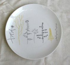 Create your own personalized/creative plates with any design or text as you like.