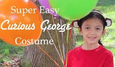 No-Sew Curious George Costume--Kids will go bananas over this super easy Curious George costume.