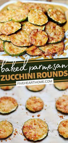 Zucchini Rounds, Zucchini Side Dishes, Veggie Side Dishes, Healthy Side Dishes, Vegetable Dishes, Food Dishes, Simple Side Dishes, Healthy Dinner Sides, Zucchini Slice