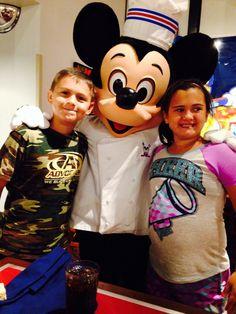 Walt Disney World with my family!!!