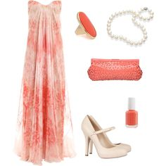 Summer Evening Coral - love this dress