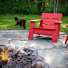 The Cabrio Chair - a Modern Patio Lounge Chair for Outdoor Living from Loll Designs