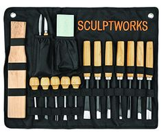 Whittling Wood Carving Tool Set 16 Piece from SculptWorks...