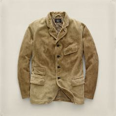 Ralph Lauren Double RL, RRL - Parker Corduroy Blazer /// pretty sure this is for a woman but I think corduroy looks rad on men too.