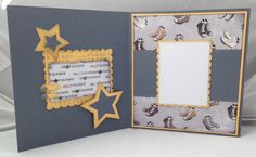 Mens card-could be used as scrapbook page