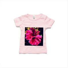 Light Pink Flower Garden 0-24mnths Wee Tee