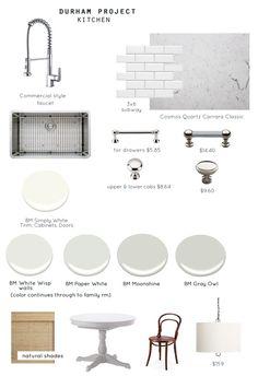 Durham Kitchen plan