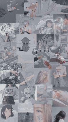 - estética gris ♡ – ᴀᴇsᴛʜᴇᴛɪᴄs ᴀɴᴅ ᴡᴀʟʟᴘᴀᴘᴇʀs# Estética # ᴀ - Iphone Wallpaper Tumblr Aesthetic, Black Aesthetic Wallpaper, Gray Aesthetic, Iphone Background Wallpaper, Retro Wallpaper, Aesthetic Collage, Cartoon Wallpaper, Aesthetic Wallpapers, Aesthetic Anime