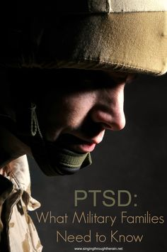 "PTSD: WHAT MILITARY FAMILIES NEED TO KNOW ""Thankfully though an awareness of PTSD can promote a better understanding of this illness as well as more effective treatment. Keep reading for more on PTSD including information regarding symptoms complicat Ptsd Military, Military Love, Military Spouse, Military Families, Military Deployment, Military Girlfriend, Military Humor, Military Veterans, Ptsd Awareness"
