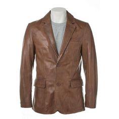 Mens Bixby Leather Coat