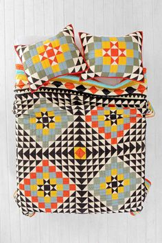 Fun quilty inspiration from Urban Outfitters.