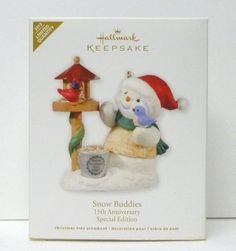2012 HALLMARk SNOW BUDDIES 15TH ANNIVERSARY SPECIAL EDITION LIMITED QUANTITY NEW