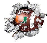 Miami Hurricanes Miami And Old School On Pinterest