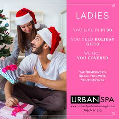 Urban Spa Holiday Gift Boxes Now Available - The Urban Spa Peterborough, Boutique Spa, Massage Therapy, Hair Services & Esthetics Peterborough