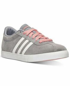 sale retailer ead43 52f70 adidas Women s Courtset Casual Sneakers from Finish Line Shoes - Finish  Line Athletic Sneakers - Macy s