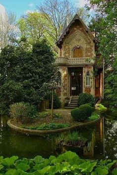 Forest Cottage, Germany Via Nature Photobook -