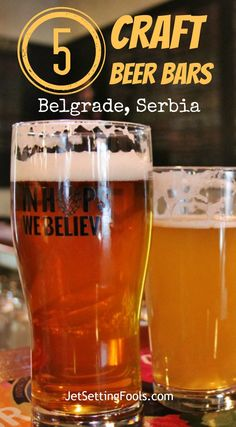 Before we arrived in Belgrade, Serbia, we had a few expectations. We expected a busy city. We expected Communist-era architecture. We expected signs in Cyrillic. What we didn't expect was to find craft beer bars in Belgrade – but we did. We're not talking about a hard-to-find pub listing just one or two craft beers on their menu. What we mean are bars that are dedicated to the craft beer movement – and we found five of them.