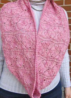 Knitting Pattern for Vinco Lace Flower Cowl - Lace infinity scarf / scowl by Wearable Art Emporium uses just two skeins of the recommended yarn.