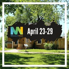 April 23-29 is #MuseumWeek2018! Follow along with us on Twitter as we share facts, stats, and artefacts related to each day's theme.  Our Twitter handle is (no surprise) OshawaMuseum  .  .  .  .  #oshawa #oshawamuseum #museumweek #museumlife #hometoourhistory