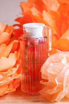 Strawberry Rosemary Sun-Tea ] Made with: fresh strawberries, rosemary ...