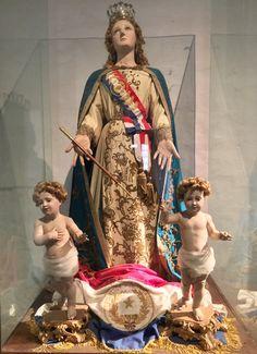 Virgen de la Asunción en la casa de la Independencia de Asunción-Paraguay