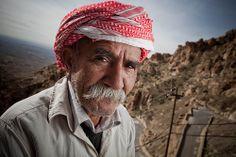 Yazidi man, Iraqi Kurdistan