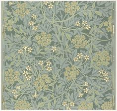 Jasmine Designer: William Morris (British, Walthamstow, London 1834–1896 Hammersmith, London) Manufacturer: Morris & Company Printer: Jeffrey & Co. (London) Date: designed 1872