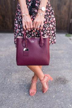 I'll be honest, I kind of miss wearing business professional attire every day. I loved pairing different… Fashion Bags, Love Fashion, Womens Fashion, Business Professional Attire, Fade Styles, Beautiful Gifts, Dress And Heels, Cloth Bags, Kate Spade Bag