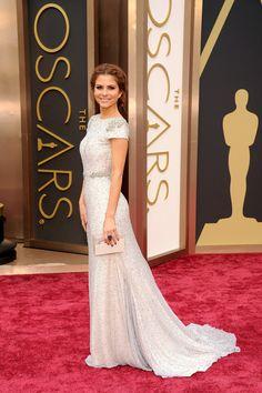 Maria Menounos on the Oscars red carpet