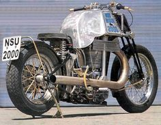 Bikes e Bikes by Daniel Alho / NSU Bison 2000 | single cylinder | 2000cm3 | 225kg