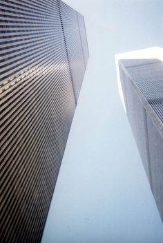 The World Trade Center New York City. The Official Opening Ribbon Cutting Ceremony was forty years ago on April 4, 1973