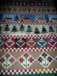 Christmas Row Quilt