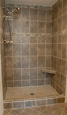 Shower Renovation The Most Useful Bathroom Shower Ideas There are almost uncountable kinds of rest r Shower Remodel, Bath Remodel, Douche Design, Bathroom Tile Designs, Bathroom Ideas, Bathroom Small, Bathroom Storage, Bathroom Vanities, 1950s Bathroom