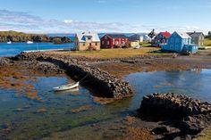 The village of Stykkisholmur.