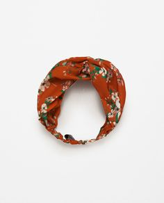 PRINTED TURBAN-STYLE HAIRBAND-NEW IN-WOMAN | ZARA United States